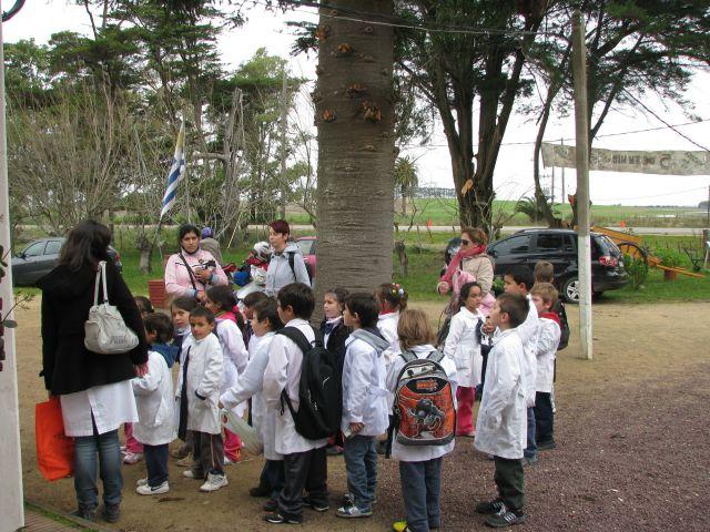 CEIMER Niños llegando al Centro