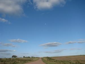 Camino y lunita