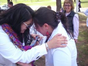 Día del Niño Rural Maestra en reencuentro