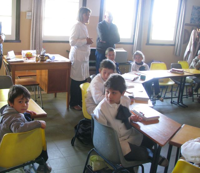 Escuela 34 Alumnos en clase