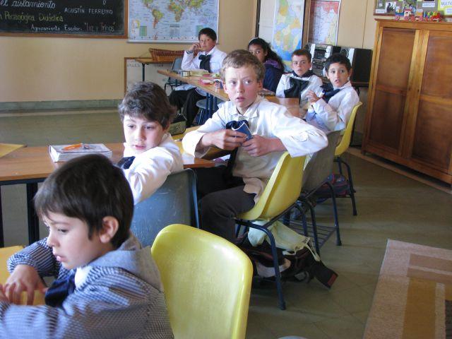 Escuela 34 Alumnos primer plano