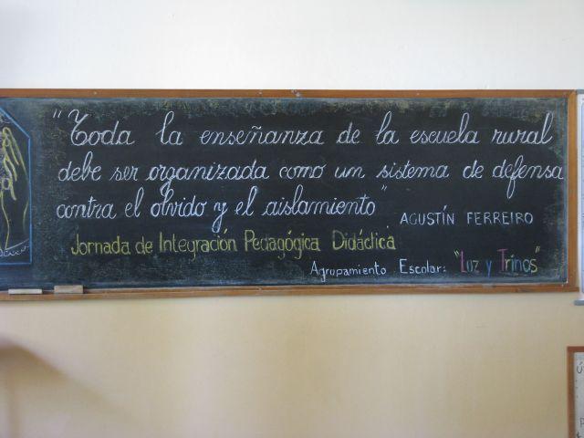 Escuela 34 Pizarrón