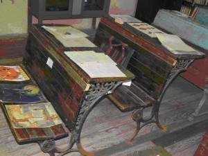 Museo Escolar de Altos del Perdido Materiales antiguos